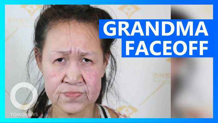Chinese teen with grandmother face gets brand new mug