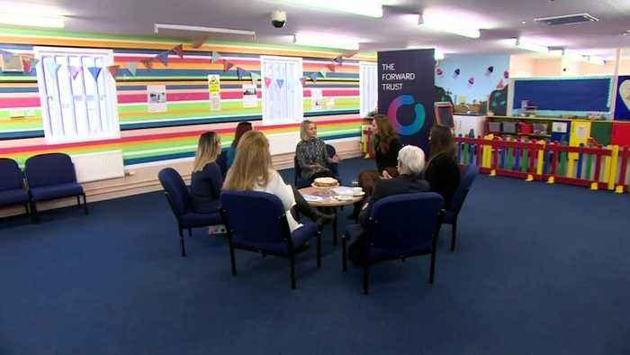 The Duchess of Cambridge visits Womens' Prison