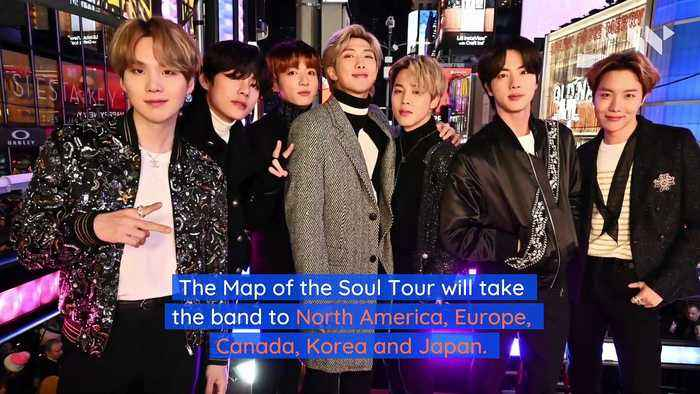 BTS Announces 2020 World Tour