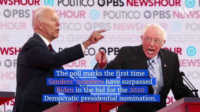 Sanders Surges to the Top With Biden in Democratic Presidential Bid
