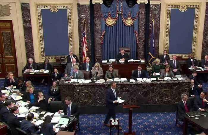 Senate rejects bid for documents in Trump impeachment trial