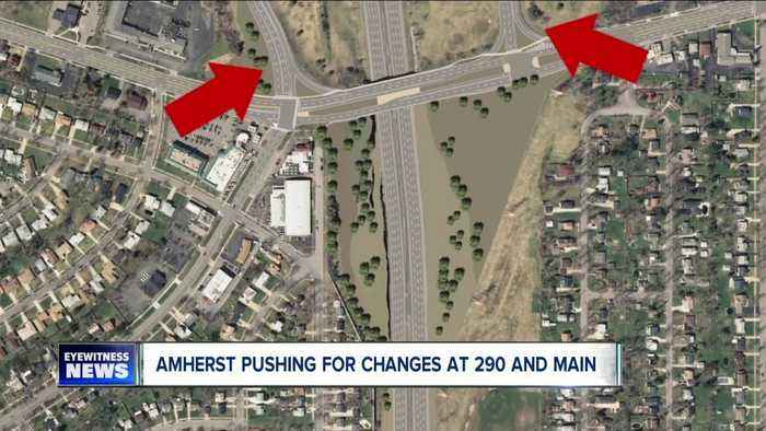 Amherst pushing for chances at the 290 and Main Street