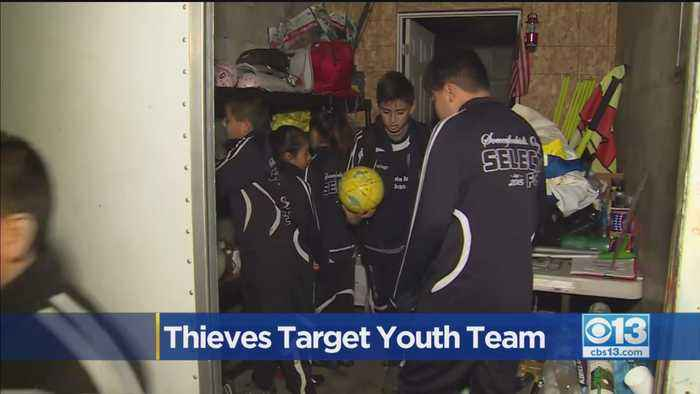 Thieves Target Youth Soccer Team
