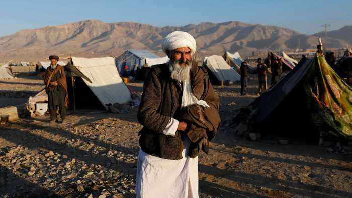 Afghan conflict: Half a million people displaced last year