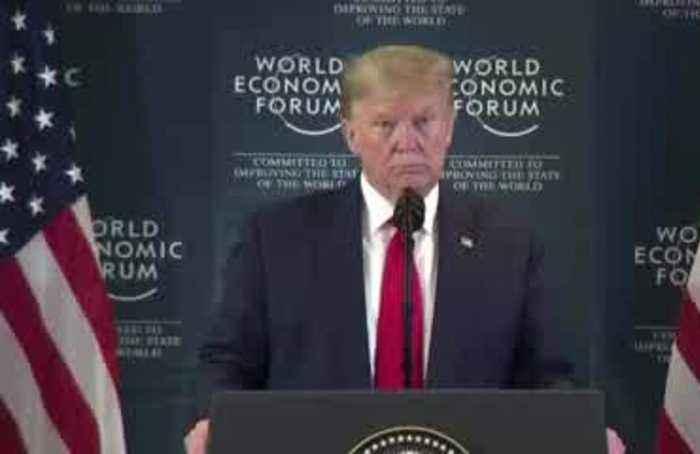 Trump 'would have loved' to see Greta speak at Davos