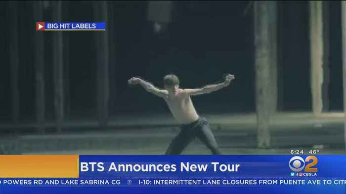 BTS Returning To L.A.