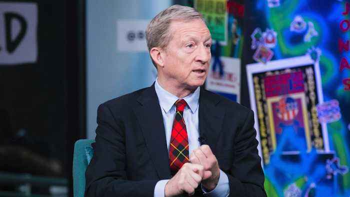 Democrat Candidate Tom Steyer Responds To Donald Trump's Morning Tweets With A Challenge