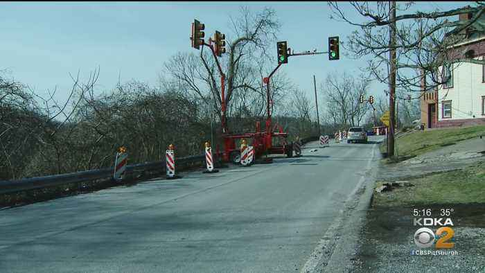 PennDOT Closes Bunola River Road After Drivers Ignore Traffic Light