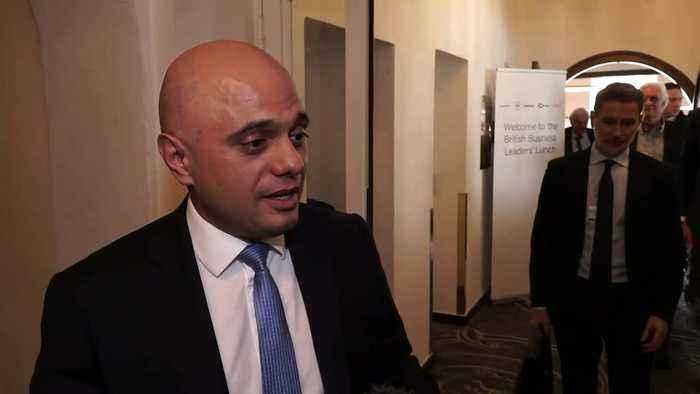 Sajid Javid has 'huge confidence' in Britain after Brexit