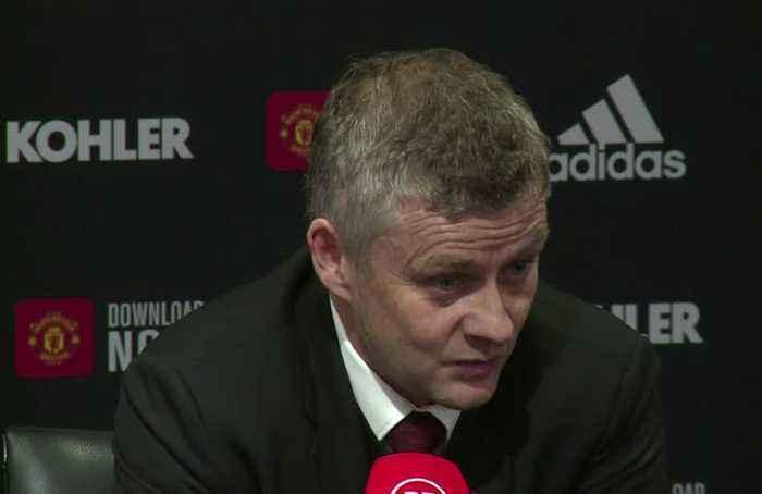 'Not good enough' says Solskjaer after Burnley win at Old Trafford
