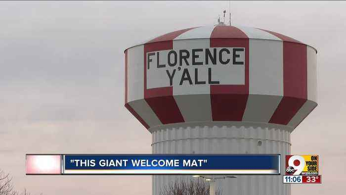 This water tower didn't always say Florence Y'all