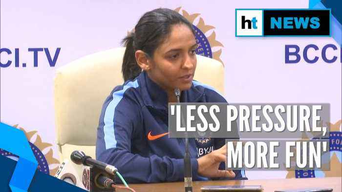 Watch: Skipper Harmanpreet shares India's strategy for Women's T20 World Cup