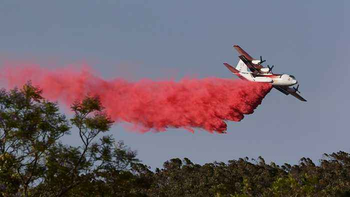Australia bushfires plane crash: Three crew members killed