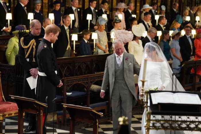 Thomas Markle 'cried' as Prince Charles walked Meghan down the aisle