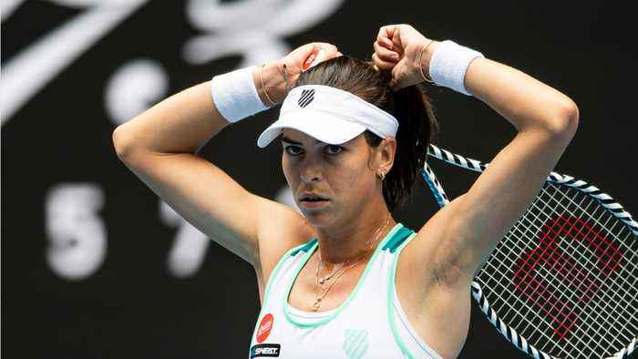 Tennis Player Ajla Tomljanović Rolls Her Eyes When Asked About Her Boyfriend