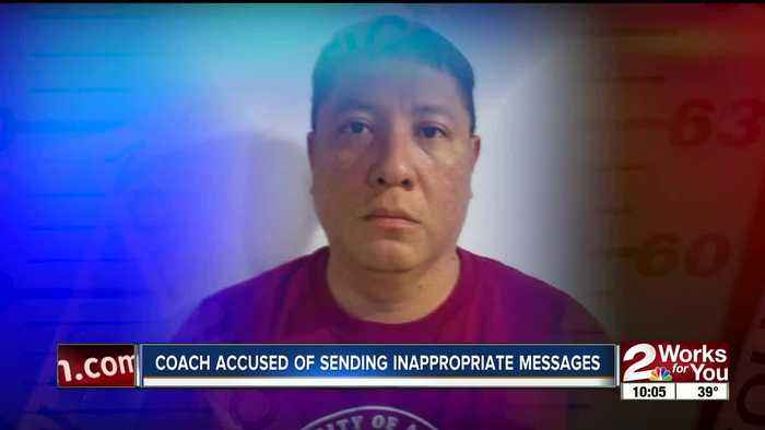 Oklahoma coach accused of sending inappropriate messages