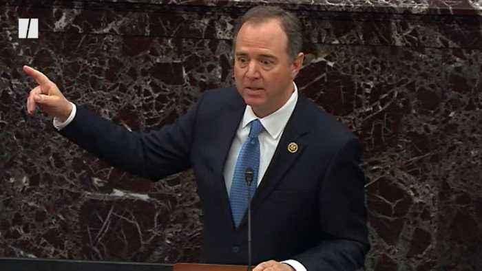 Rep. Adam Schiff's Passionate Speech Stirs Senate