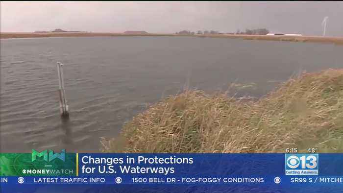 Moneywatch: Trump Admin. Lifting Some Protections For US Waterways