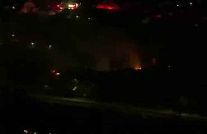Huge explosion rips through Houston building