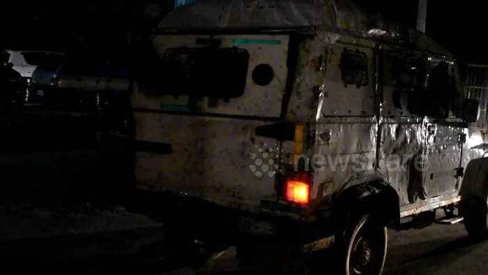 Grenade attack on police post in Kashmir leaves at least one severely injured