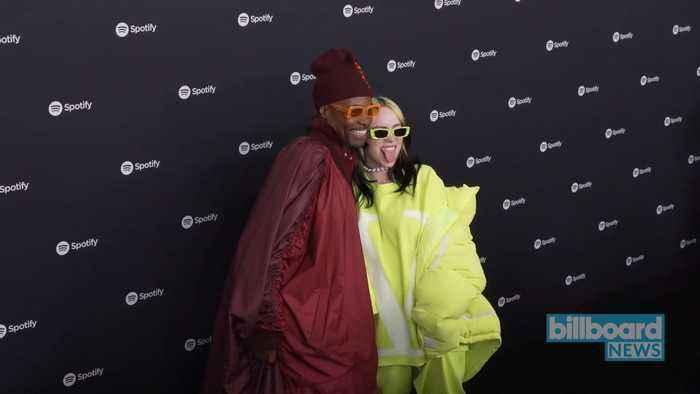 Inside Spotify's Best New Artist Grammy Party With Lil Nas X, Billie Eilish & Lizzo | Billboard News