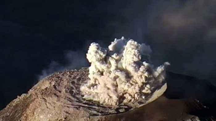 Azerbaijan Has 'Dancing' Mud Volcanoes