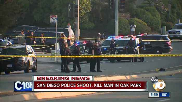 San Diego Police shoot, kill suspect in Oak Park