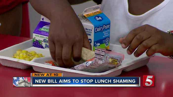 New bill aims to prevent 'lunch shaming' in public schools