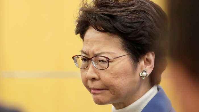 Hong Kong's leader declares Wuhan virus emergency