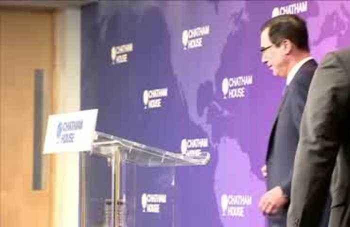 U.S. Treasury Secretary optimistic on trade deal with UK