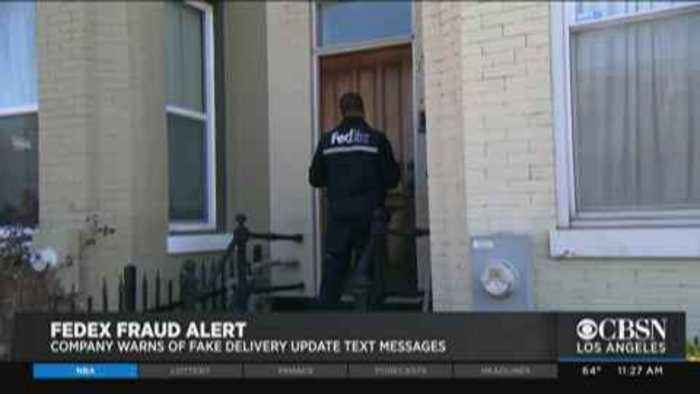 FedEx, Amazon Warn About Text Message Scam