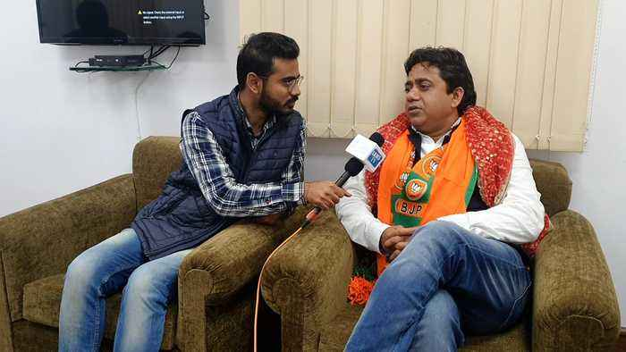 Will win by 25 thousands votes, against Kejriwal: BJP's Sunil Yadav