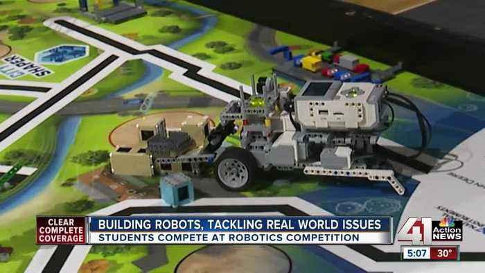 Building robots, tackling real-world issues
