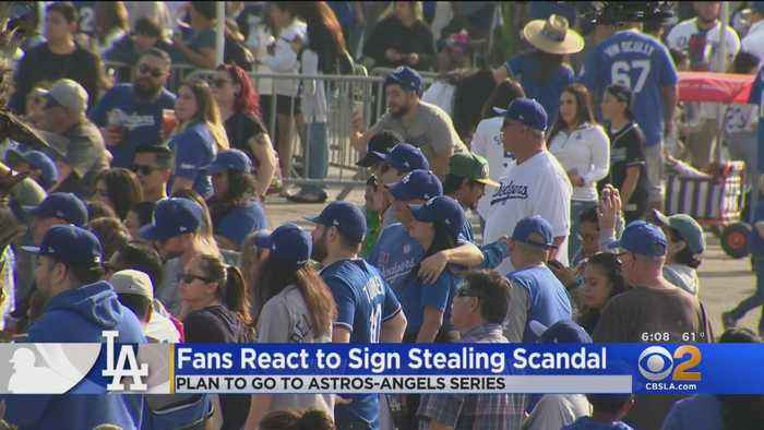 Dodgers Fans React To Astros Sign-Stealing Scandal