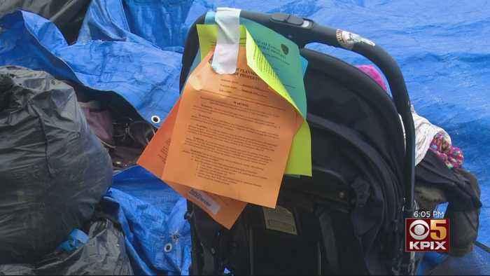Time Running Out For Homeless Encampment On Joe Rodota Trail In Santa Rosa