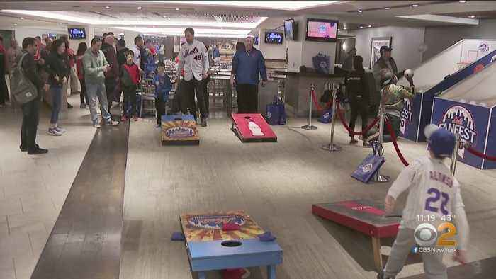 First-Ever Mets Fan Fest Held At Citi Field Ahead Of Spring Training