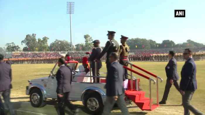 Republic Day 2020 Lieutenant Governor GC Murmu hoists national flag in Jammu