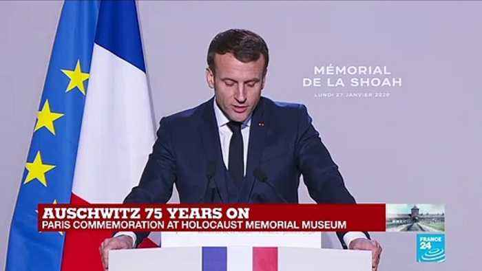 'Education is an antidote for intolerance,' says Macron