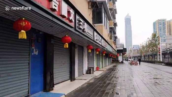 Wuhan turns into 'ghost town' due to coronavirus outbreak