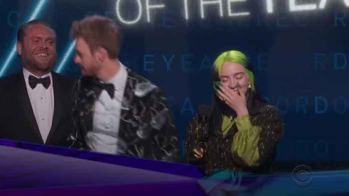 Billie Eilish takes a clean sweep of the Big Four at the Grammys