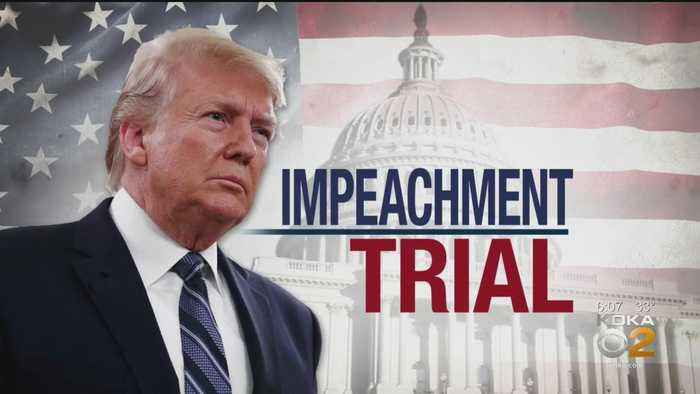 President Donald Trump's Team Sets Defense During Impeachment Trial