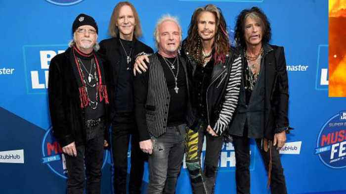 Aerosmith announces 50th anniversary concert in Boston