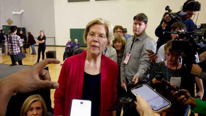 Warren Drops In New Poll