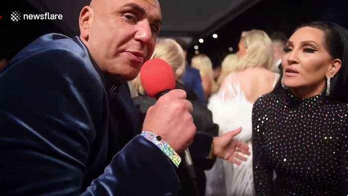 Michelle Visage arrives at NTA Awards
