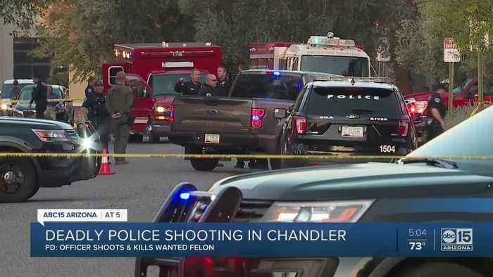 Officer hurt, one dead after shooting near I-10 and Chandler Boulevard