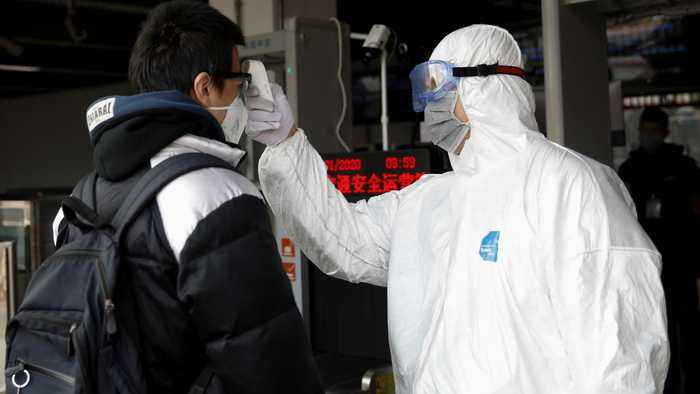 Beijing city reports first coronavirus death