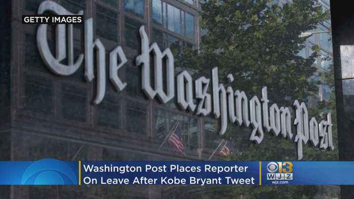 Washington Post Places Reporter On Leave After Kobe Bryant Tweet