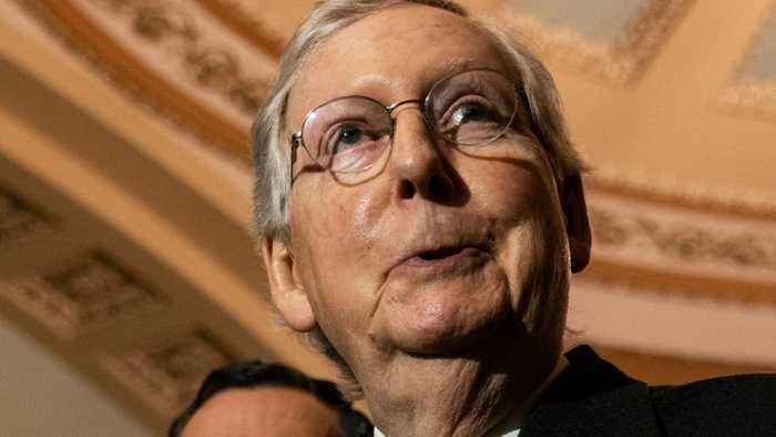 Mitch McConnell Says He Doesn't Have Enough Votes Yet To Block Witnesses