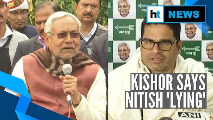 'Amit Shah recommended him': Nitish Kumar on Prashant Kishor jibes at BJP