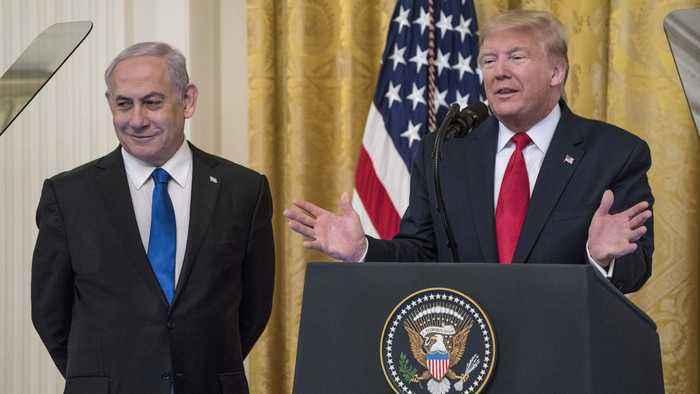 Trump unveils US-Israeli plan amid Palestinian rejections
